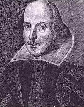 Единственный достоверный портрет Шекспира. Гравюра Мартина Дройсхута. Великое Фолио (1623)